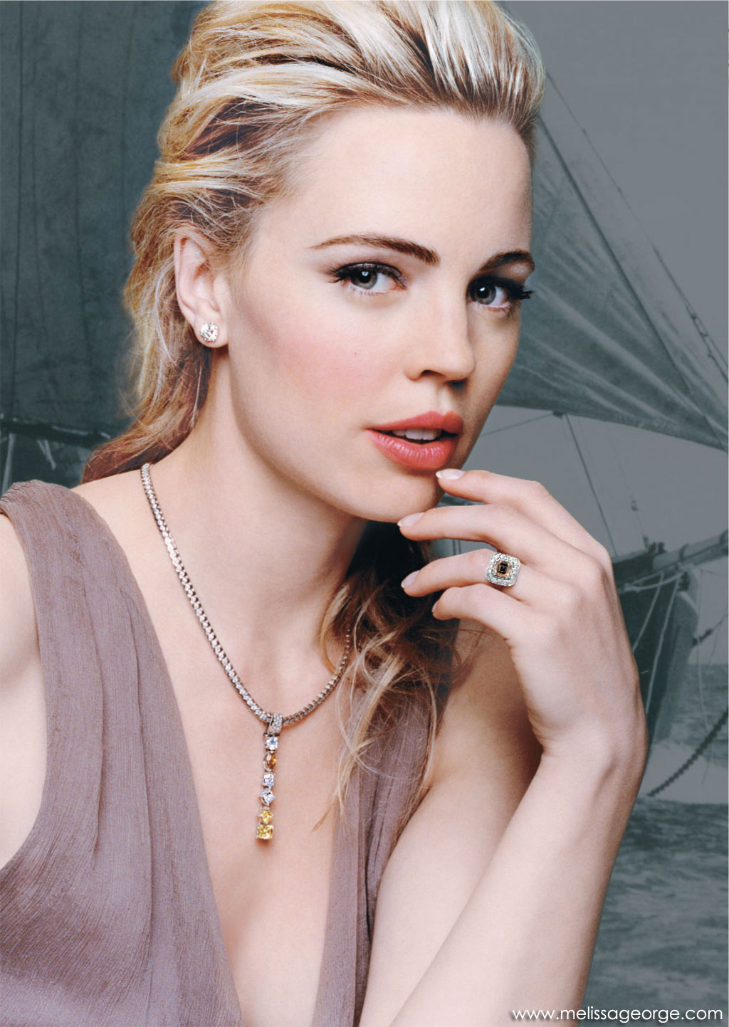 Melissa George - Wallpaper Actress